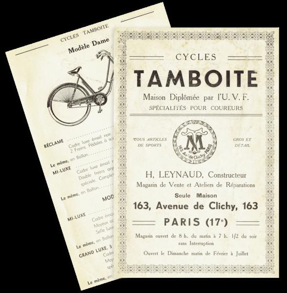 ancienne brochure